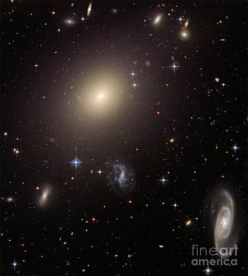 Abell S0740 Galaxies Poster by Nasa