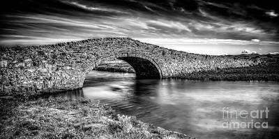 Aberffraw Bridge V2 Poster by Adrian Evans