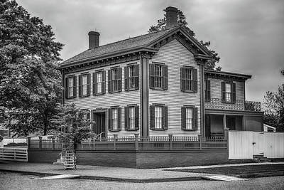 Abe's House In Bw Poster