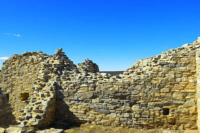 Poster featuring the photograph Abo Mission Ruins New Mexico by Jeff Swan