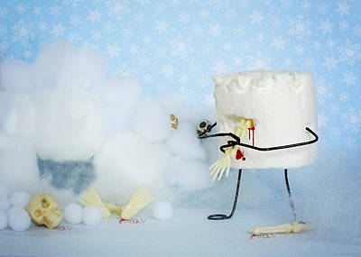 Abominable Snowmallow Poster by Heather Applegate