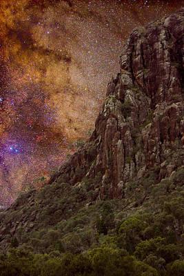 Aboriginal Dreamtime Poster by Charles Warren