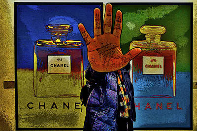 About Love. Chanel No. 5 Poster by Andy Za