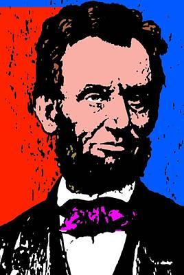 Abraham Lincoln-5 Poster by Otis Porritt