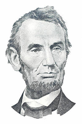 Abraham Lincoln Poster by David Houston
