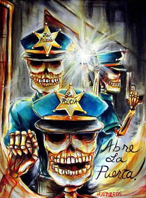 Abre La Puerta Poster