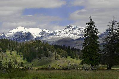 Absaroka Mts Wyoming Poster