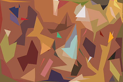 Abstract 16 Poster by Art Spectrum