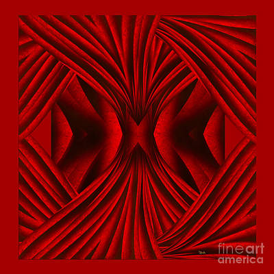Abstract Art - Hot Secrets By Rgiada Poster by Giada Rossi