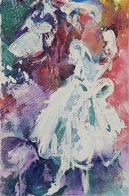 Abstract-ballerina Poster
