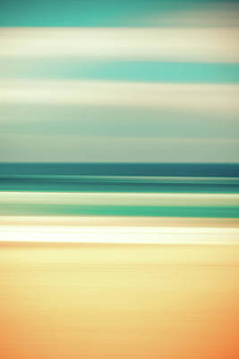 Abstract Beach Poster