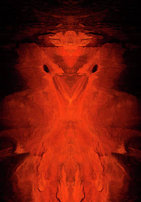 Abstract Bird 01 Poster by Scott McAllister