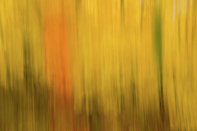 Abstract Blur Number 2 Poster