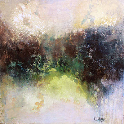 Abstract Contemporary Art Poster by Patricia Lintner