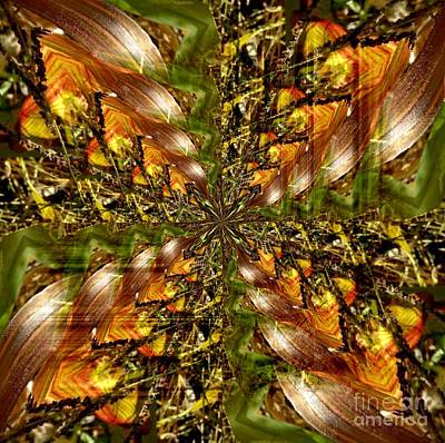 Abstract Cornfield 1 Poster