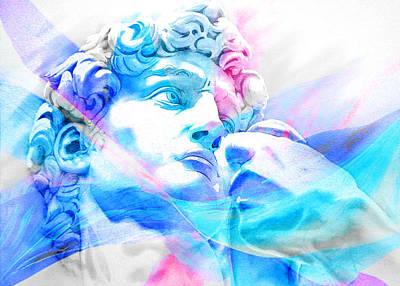 Abstract David Michelangelo 3 Poster by J- J- Espinoza
