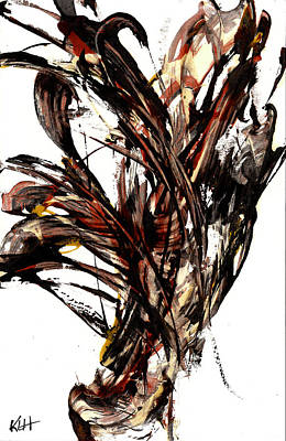 Abstract Expressionism Series 58.121210 Poster