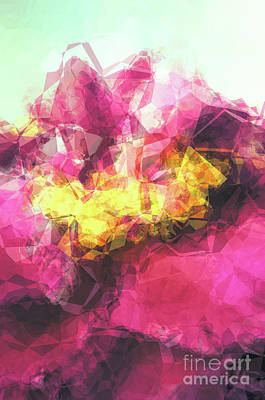 Abstract Flower Poster by Angela Doelling AD DESIGN Photo and PhotoArt