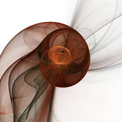 Abstract Fractal Art Poster by Gabiw Art