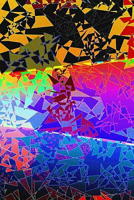 Abstract Fusion 273 Poster by Will Borden