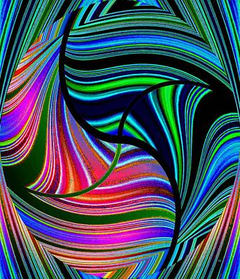 Abstract Fusion 278 Poster by Will Borden