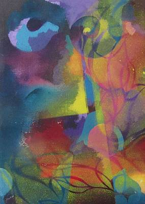 Abstract Garden Poster by Alfred Ng