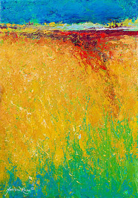 Abstract Landscape 1 Poster by Marion Rose