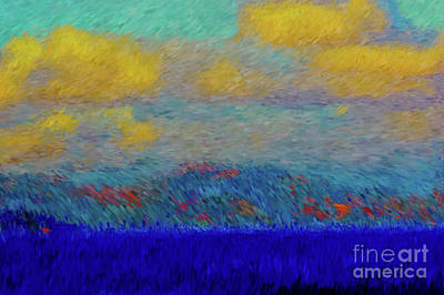 Abstract Landscape Expressions Poster