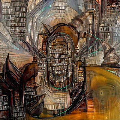 Abstract Liberty Poster