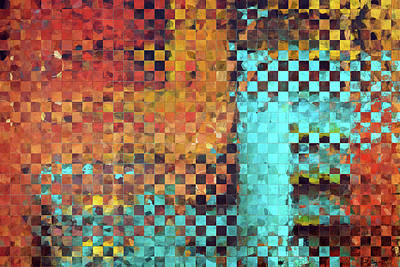 Abstract Modern Art - Pieces 1 - Sharon Cummings Poster