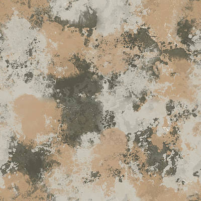 Abstract Mud Puddle Poster