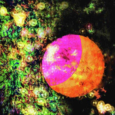 Abstract - Nebulae Poster