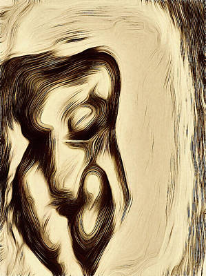 Abstract Nude Poster