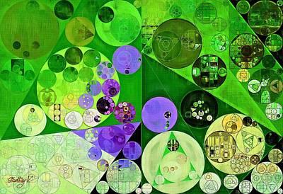 Abstract Painting - Amethyst Poster by Vitaliy Gladkiy