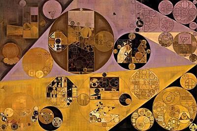 Abstract Painting - Sante Fe Poster by Vitaliy Gladkiy