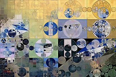 Abstract Painting - Sisal Poster by Vitaliy Gladkiy