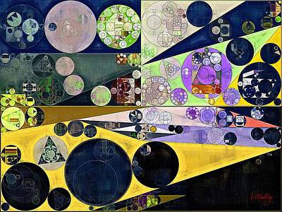 Abstract Painting - Tahuna Sands Poster by Vitaliy Gladkiy