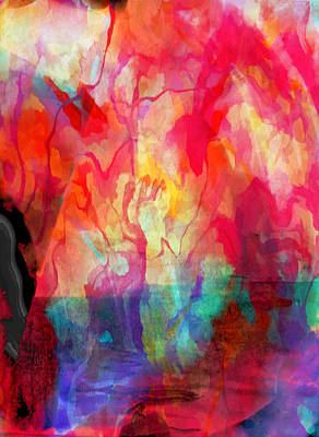 Abstract Painting Poster by Tom Gowanlock
