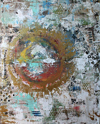Abstract Paintng Poster by Alma Yamazaki