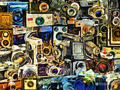 Abstract Photography 20160801  Everyone's A Photographer These Days, With A Camera In Every I-phone, Poster by Wingsdomain Art and Photography