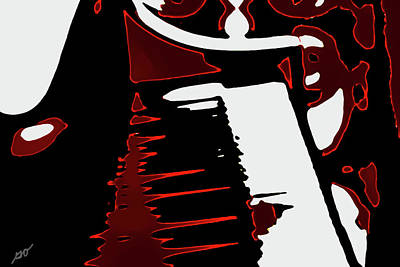 Abstract Piano Poster