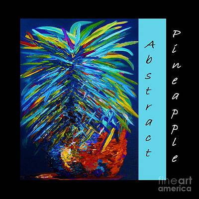 Abstract Pineapple Poster by Eloise Schneider