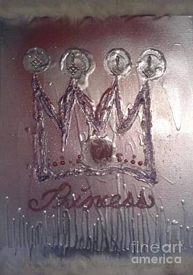 Abstract Princess Dreams Of Grandeur Poster