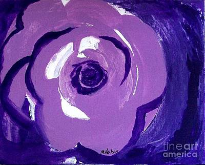 Abstract Rose Poster by Marsha Heiken