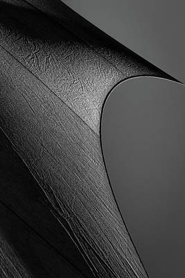 Poster featuring the photograph Abstract Sailcloth 201 by Bob Orsillo