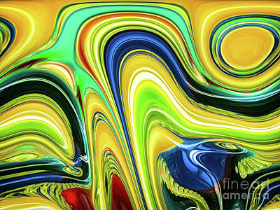 Abstract Series 153240 Poster