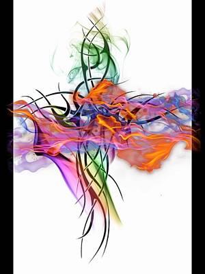 Dance Poster by Mark J Dunn