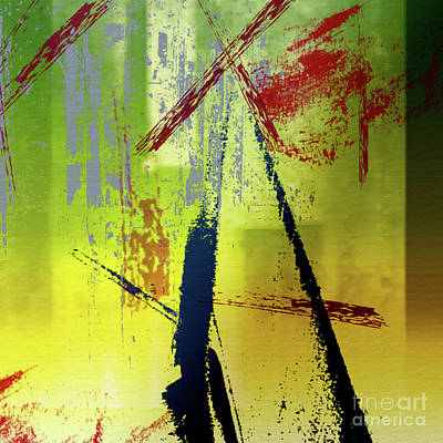 Abstract Thoughts Poster by Elaine Manley