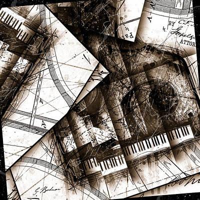 Abstracta 24 Cadenza Poster by Gary Bodnar