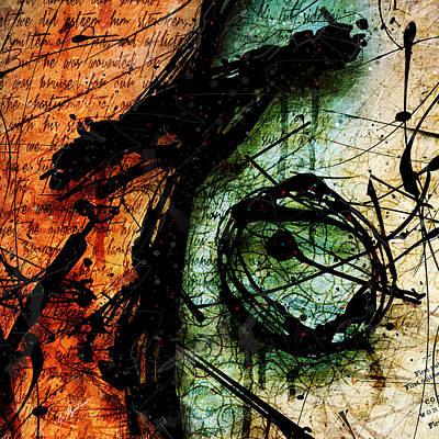 Abstracta_07 Sacrifice Poster by Gary Bodnar